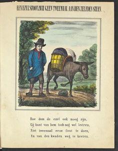 Afbeeldingsresultaat voor een ezel stoot zich geen twee keer aan dezelfde steen frans