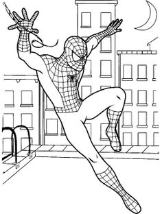 spiderman coloring pages and coloring on pinterest