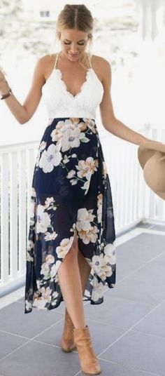Hello Loves ❤️ Summer Stitch Fix Style Trends. June 2017 inspiration. Gorgeous dress. Stitch Fix is a clothing subscription for men and women. New to Stitch Fix? Click pin to sign up. #Stitchfix #Sponsored