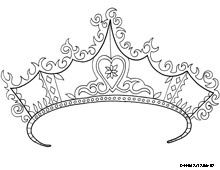 crowns coloring pages and coloring on pinterest