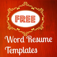 1000 images about free resume templates on pinterest free