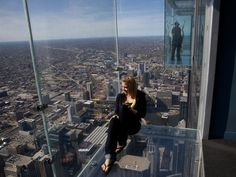 Cher is back on the charts with  Woman s World    This weekend     Willis Tower Skydeck  Chicago USA