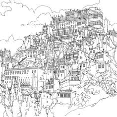 coloring books coloring and cities on pinterest