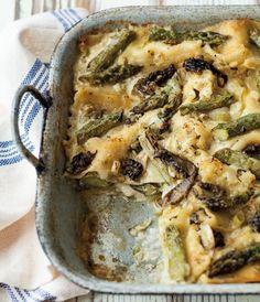 Lasagna with Asparag