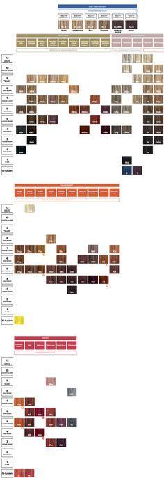 Framesi Hair Color Chart Cosmetik