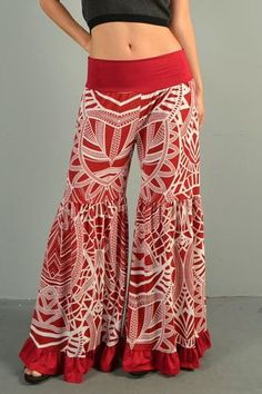 Image result for print pantaloons boho