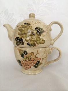1 New Ceramic Tabletops Unlimited English Garden Bowl Don Swanson