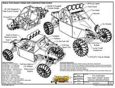Plans For Dune Buggy Free Download | Proyectos que intentar | Pinterest | Vehicles, Cars and Zombies