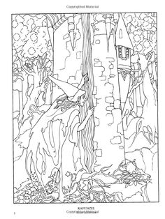 1000 images about medieval and fairy tale coloring book pages on