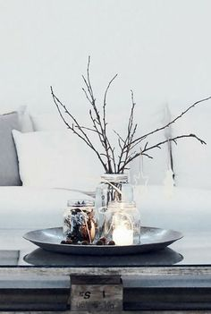 1000 Ideas About Coffee Table Centerpieces On Pinterest