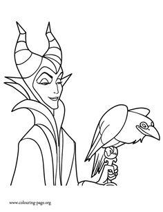 Disney Villains Coloring Pages - GetColoringPages.com | 307x236