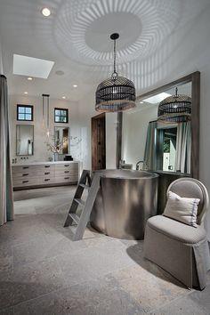 Soaking Tub Sherry Hart Designs BATHS