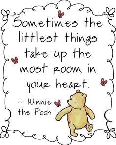 Image result for winnie the pooh quotes about love