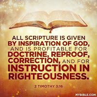 Image result for 2 timothy 3:16-17