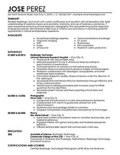 emergency medical technician resume and medical on pinterest