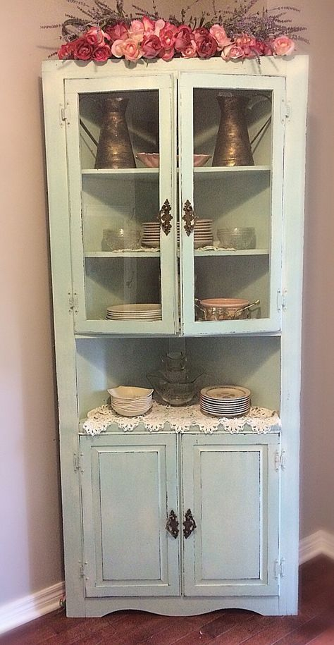 1000 Ideas About Hutch Cabinet On Pinterest Corner