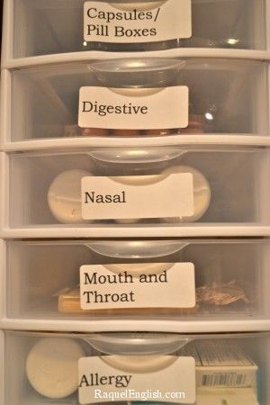 This is how a medicine cabinet should look
