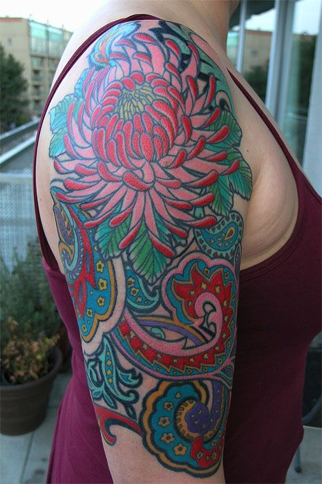 paisley tattoo