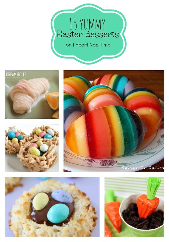 15 Yummy Easter Desserts | I Heart Nap Time – How to Crafts, Tutorials, DIY, Hom