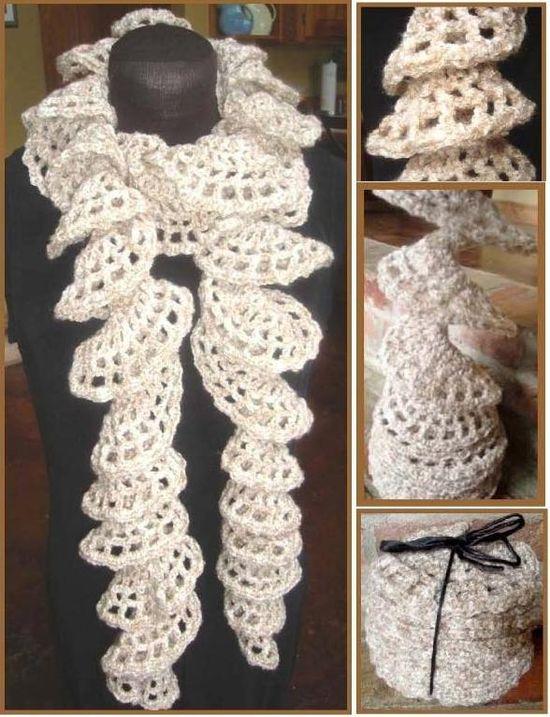 Spirally Scarf by Lisa Gentry | Crocheting Pattern