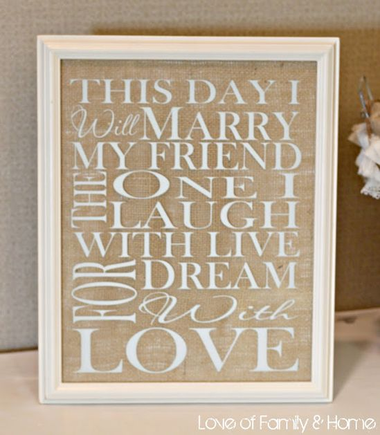 WhisperWood Cottage: Burlap Month Features: 10 Burlap-Inspired Wedding Ideas