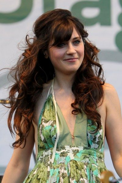 I might want Zooey Deschanel hair to go with that dress.