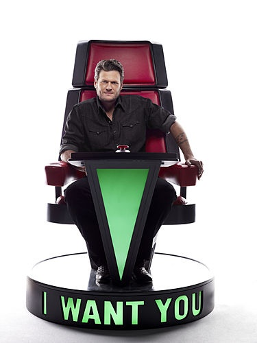 Voice Coach – Blake Shelton (NBC's The Voice – Airing this Sunday after the