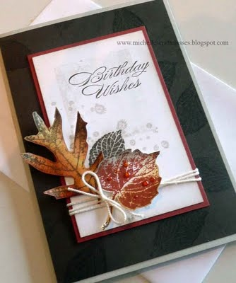 Stampin' Up! – French Foliage
