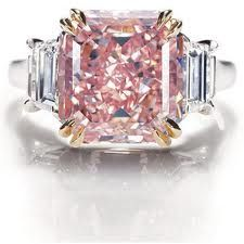 Rare Pink-Diamond Engagement Ring from Harry Winston…