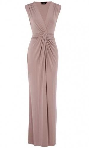 Dorothy Perkin Staupe Knot Maxi Dress, £330