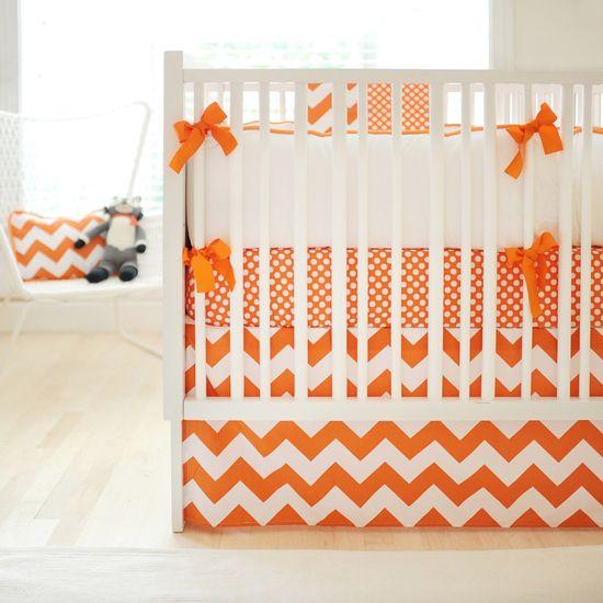 Chevron Crib Bedding, Baby Bedding Chevron, Chevron Crib Skirt, Chevron Nursery