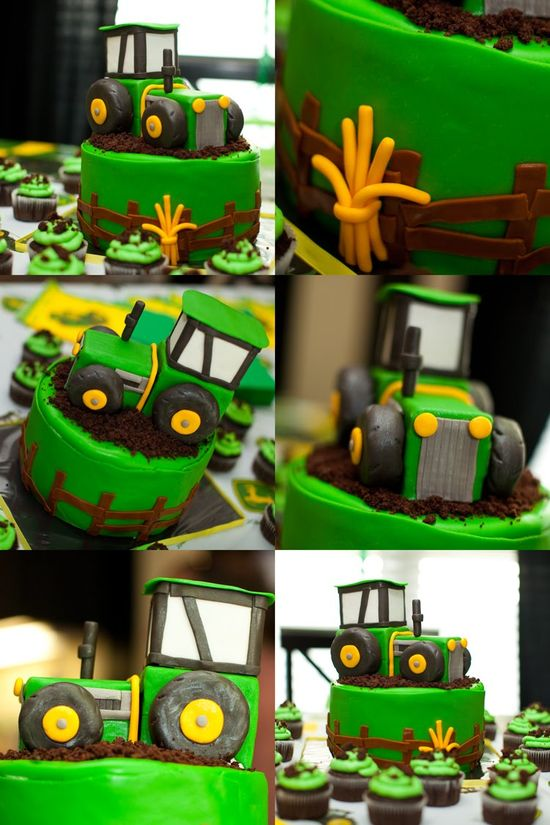 John Deere tractor birthday party |  Kara's Party Ideas