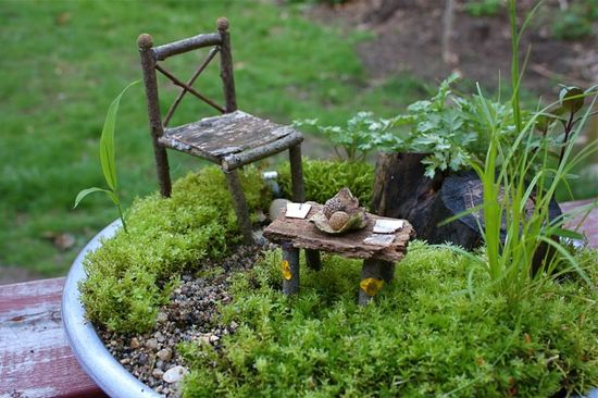 Maybe expand Gnome Day to include fairies…or just always have fairy furniture