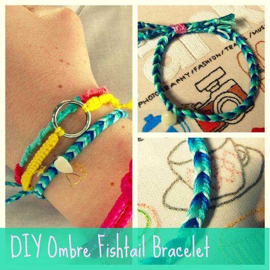 DIY Fishtail Bracelet