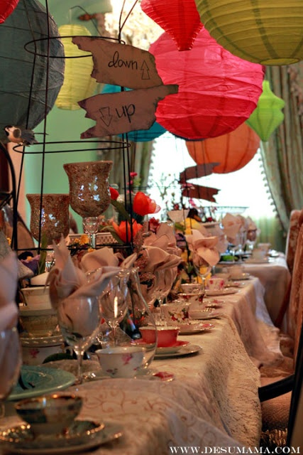 Mad Hatter Tea Party Bridal Shower