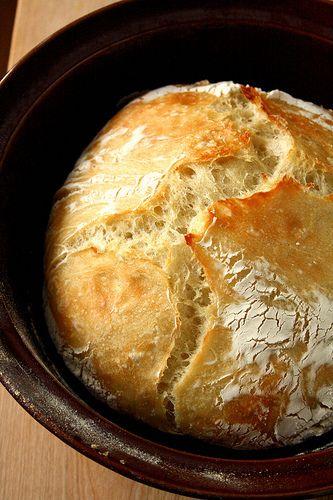Anna's Rustic No-Knead Artisan Bread