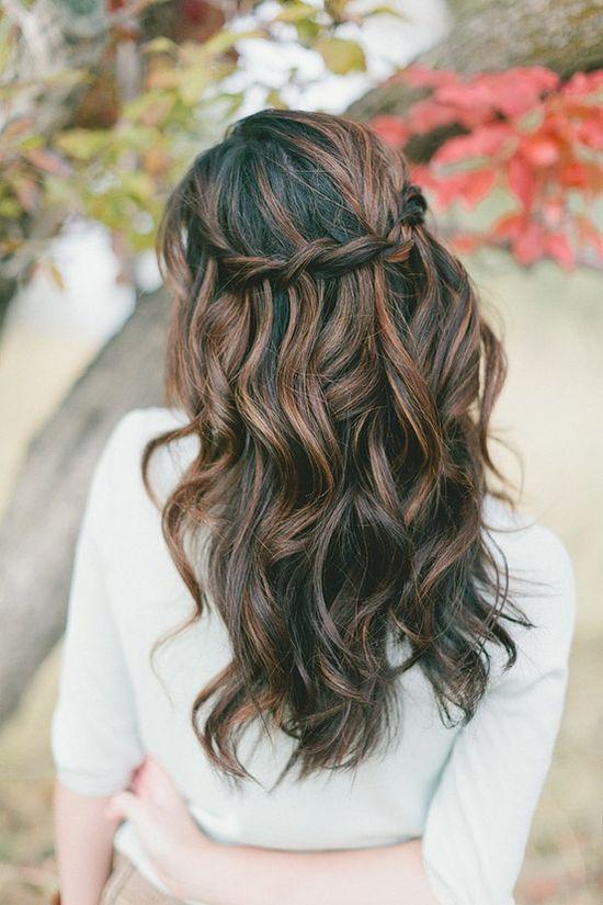 Wedding Hair – A crown of braids and curls