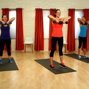 Love this! A great arms routine to switch it up and tone it up.  10-Minute Arm W