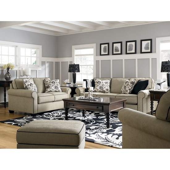 Boston Loft Furniture 1770038/35 Caroline Sofa Set