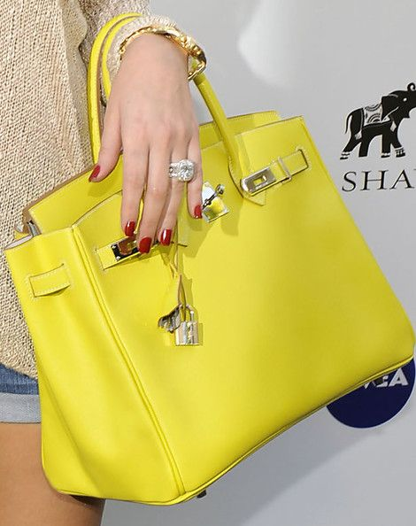 Khloe Kardashian Leather Tote – Khloe Kardashian Tote Bags – StyleBistro
