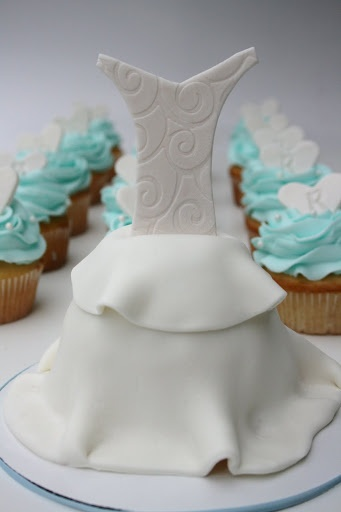 Bridal Shower Cup Cakes