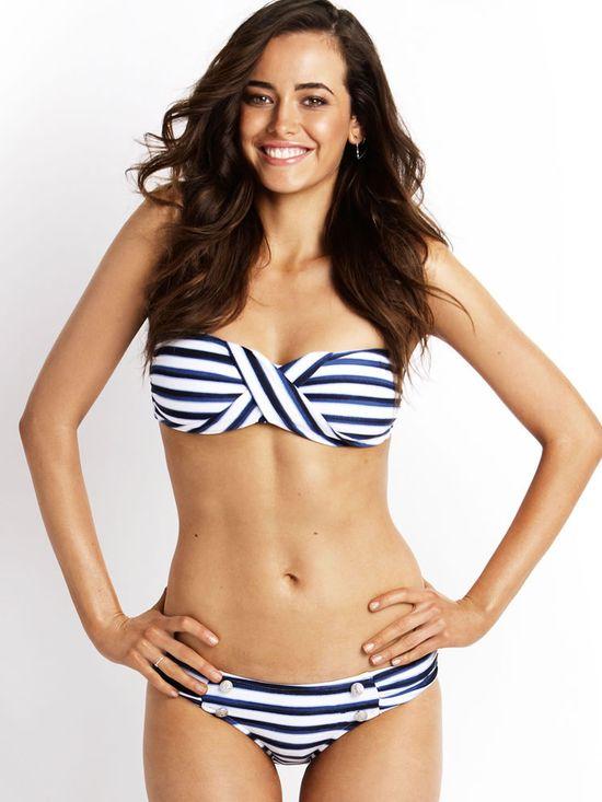 Bandeau Bikinis, 2013 Swimsuits, Strapless Swimwear, Swim Separates Seaview Band