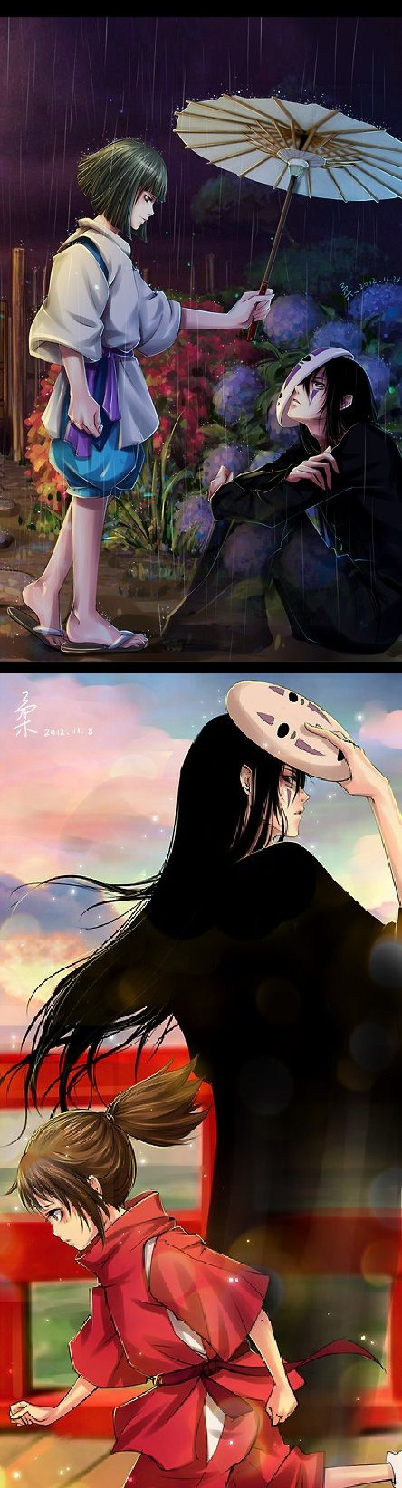 No face, Spirited away and Faces on Pinterest