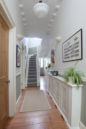 Radiator Covers Under Windows In Hallways And Corners