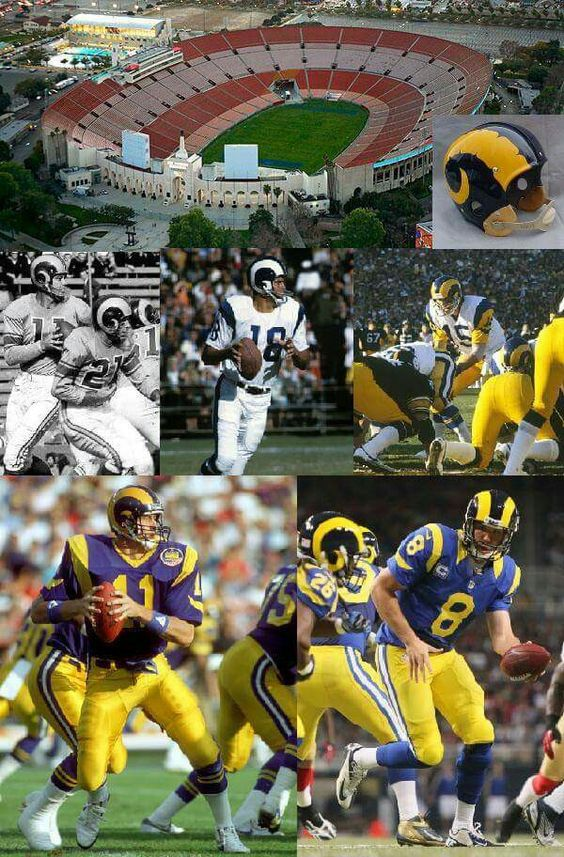 So much history! LA Rams! RAM PRIDE Pinterest La