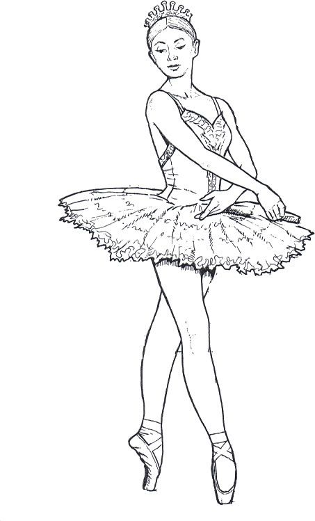 ballet drawings dancers and adult coloring pages on pinterest