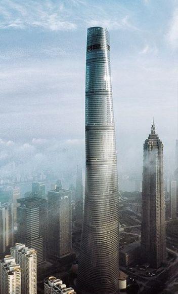 Shanghai Tower, a 632m megatall skyscraper