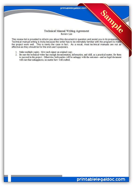 User Guide Tutorial, Technical Writing