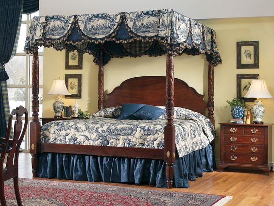 Colonial Williamsburg Furniture And Beds On Pinterest