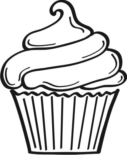 cupcake graphic file clipart best clipart best doodles